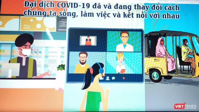"""Hãy xem ngay video """"Cách phá vỡ chuỗi lây truyền của COVID-19"""" (Ảnh chụp màn hình video)"""