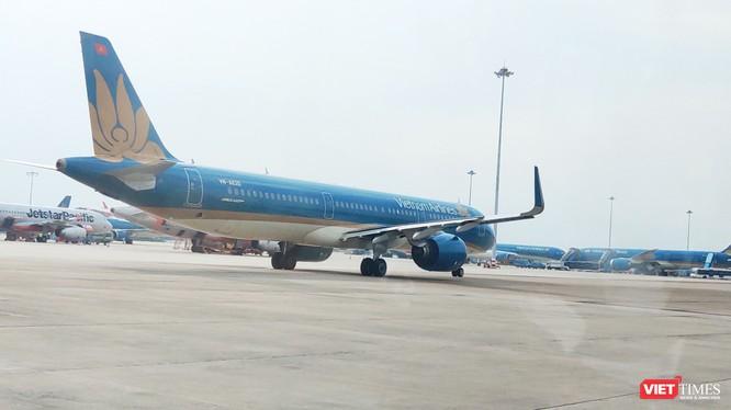 Bộ y tế ra thông báo khẩn tìm người trên chuyến bay VN7198 từ Đà Nẵng đến Hà Nội (Ảnh: Hòa Bình)
