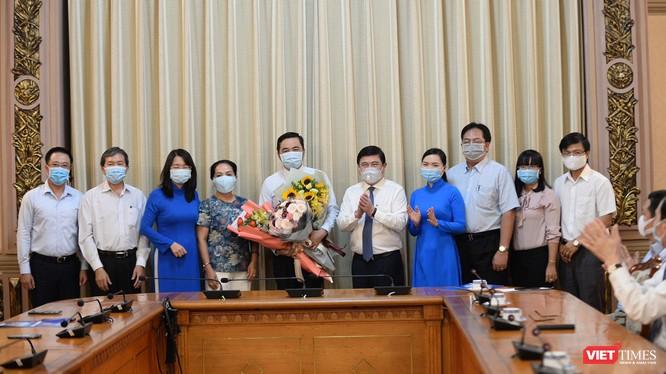 Ông Bùi Tá Hoàng Vũ đảm nhận chức vụ Giám đốc Sở Công thương TP.HCM (Ảnh: PT)