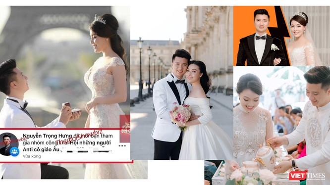 """Những khoảnh khắc đẹp trong đám cưới nay bị mang ra ném vào nhau, trở thành """"gạch đá"""" hậu ly hôn (Ảnh: FBNV)"""
