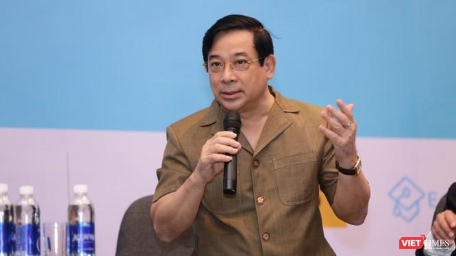 BS Lương Ngọc Khuê – Cục trưởng Cục quản lý Khám chữa bệnh (Bộ Y tế) nói về mức độ hài lòng của người bệnh với dịch vụ công (Ảnh: TB)