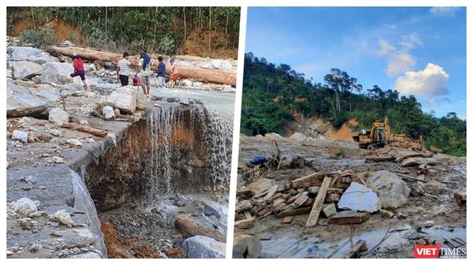 Khẩn cấp cứu nạn nhân Phước Sơn trước khi cơn bão số 10 ập tới (Ảnh: An Bằng)