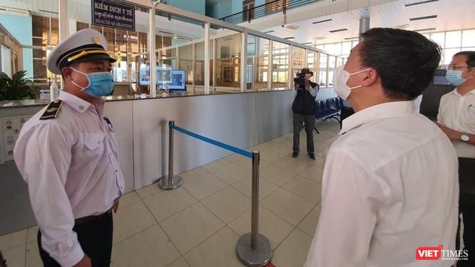 Công tác kiểm dịch cửa khẩu và ngăn chặn người nhập cảnh trái phép cần tăng cường dịp Tết nguyên đán (Ảnh: BYT)