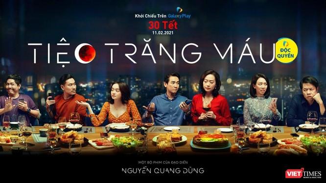 """Phim điện ảnh """"Tiệc trăng máu"""" sẽ công chiếu online vào ngày mai 30 Tết Tân Sửu (Ảnh: ĐPCC)"""