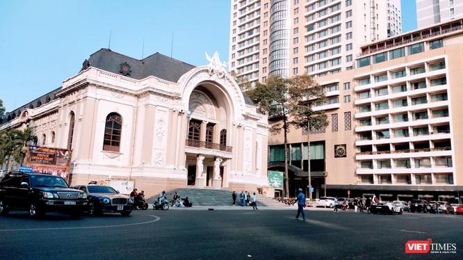 """Nhà hát Giao hưởng Nhạc vũ kịch hiện nay đang trong cảnh """"không nhà"""", phải thuê Nhà hát TP.HCM làm điểm biểu diễn (Ảnh: Hoà Bình)"""