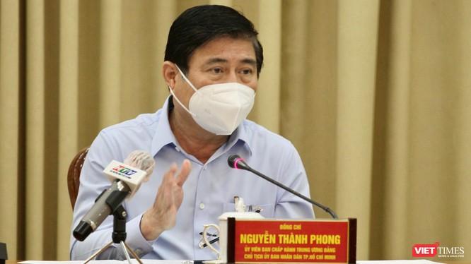 Chủ tịch UBND TP.HCM khẳng định dứt khoát dừng bắn pháo hoa (Ảnh: TTBC)