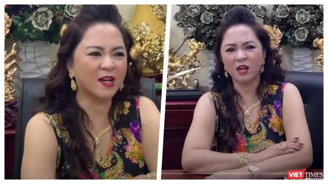 Bà Phương Hằng liên tục livetream chửi bới nghệ sĩ - Ảnh: FBNV