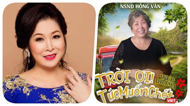 NSND Hồng Vân lên tiếng xin lỗi về quảng cáo sai sự thật - Ảnh FBNV