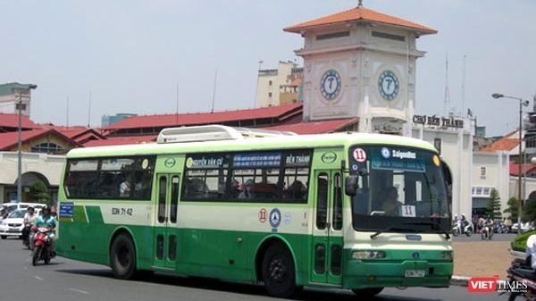 Tuyến xe bus Bến Thành - Đại Nam (Ảnh: SGTVT)