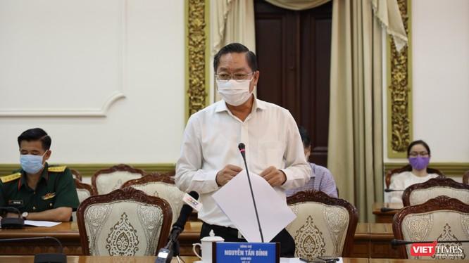 Ông Nguyễn Tấn Bỉnh - GĐ Sở Y tế TP.HCM (Ảnh: TTBC)