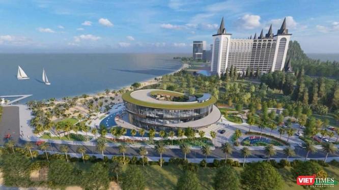 Dự án Hải Giang Merry Land tích hợp đầy đủ tiện ích vui chơi giải trí, nghỉ dưỡng lần đầu xuất hiện tại Quy Nhơn - Ảnh: HTG