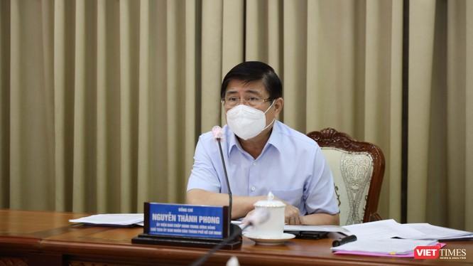 Báo cáo về tình hình dịch bệnh tại TP.HCM đã được gửi tới ông Nguyễn Thành Phong, Chủ tịch UBND TP.HCM (Ảnh: TTBC)