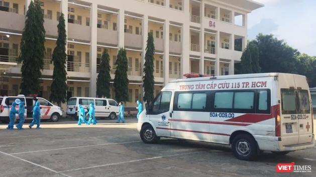 Bệnhh viện Dã chiến số 1 - Ảnh: SYT TP.HCM