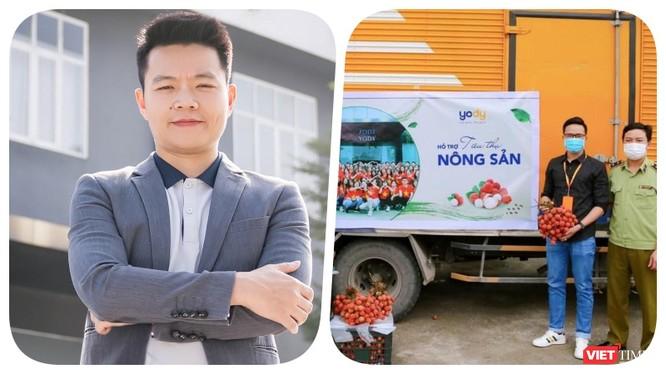 Ông Nguyễn Việt Hoà - CEO YODY bày tỏ, thể hiện trách nhiệm xã hội của doanh nghiệp trong mùa dịch là một cách xây dựng văn hoá doanh nghiệp - Ảnh: NVCC