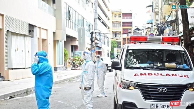 Bệnh viện dã chiến số 5 tại Thuận Kiều Plaza sẵn sàng đón bệnh nhân - Ảnh: HCDC