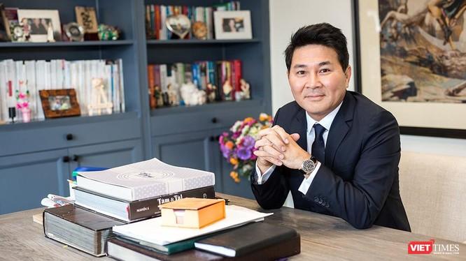 Doanh nhân Nguyễn Hoài Nam đưa nhiều kiến nghị tâm huyết giữa tâm dịch TP.HCM - Ảnh: NVCC