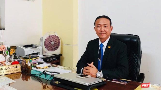 Luật sư Bùi Quốc Tuấn (Đoàn Luật sư TP.HCM) - Ảnh: Hoà Bình