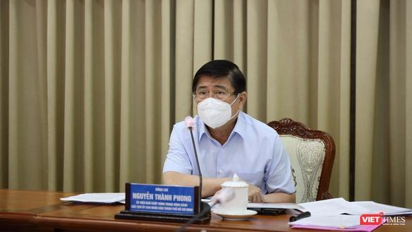 Chủ tịch UBND TP.HCM Nguyễn Thành Phong - Ảnh: TTBC