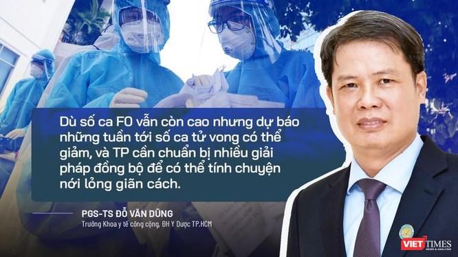 PGS.TS Đỗ Văn Dũng- Trưởng khoa Y tế công cộng ĐH Y Dược TP.HCM. Ảnh NVCC