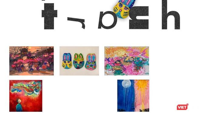 Triển lãm trưng bày hơn 30 bức, đều là tranh mới sáng tác về đề tài Tết trung thu