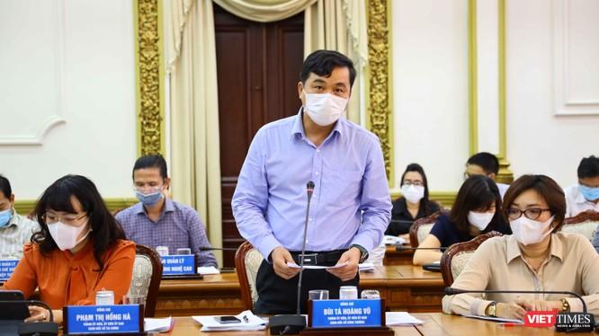 Ông Bùi Tá Hoàng Vũ - Giám đốc Sở Công thương TP.HCM