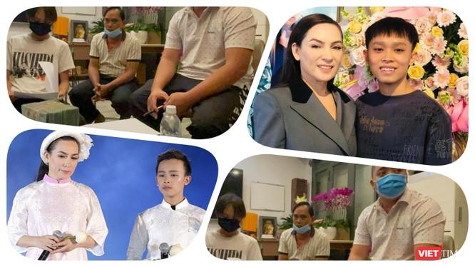Hồ Văn Cường đã nhận đủ tiền cát xê đi hát từ quản lý của ca sĩ Phi Nhung. Ảnh: Hoà Bình ghép