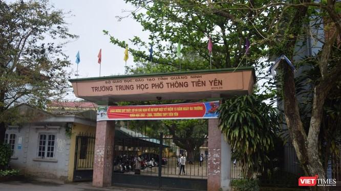 Trường THPT Tiên Yên được đánh giá là trường điểm của huyện miền núi Tiên Yên, Quảng Ninh.