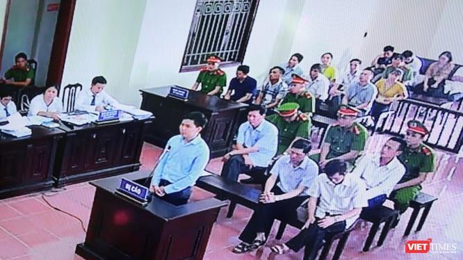 Hoàng Công Lương trả lời HĐXX tại phiên phúc thẩm ngày 12/6.