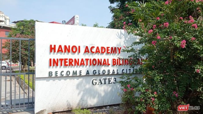 Một ngôi trường quốc tế nổi tiếng tọa lạc tại Khu đô thị Ciputra, Hà Nội.