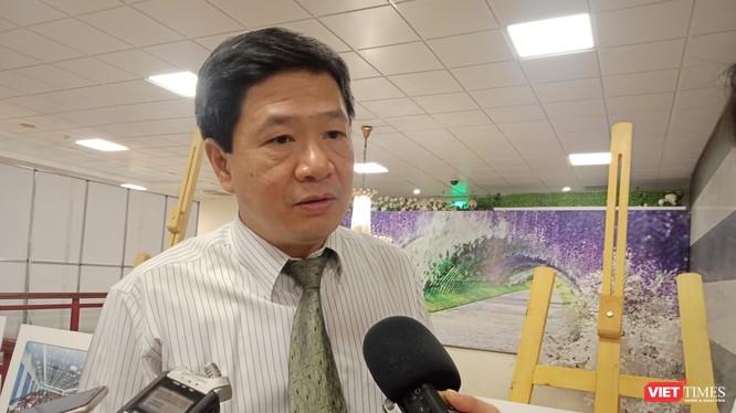 Ông Đinh Huy Dương - Vụ trưởng Vụ Truyền thông giáo dục, Tổng cục Dân số - Kế hoạch hóa gia đình (Bộ Y tế) trả lời phỏng vấn sáng 23/9.