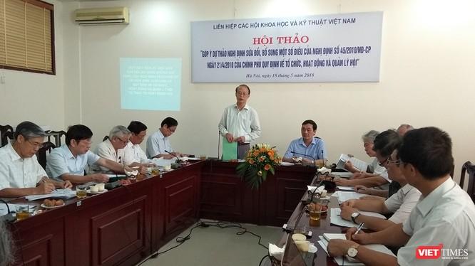 Theo TS. Phạm Văn Tân, Phó Chủ tịch kiêm Tổng thư kí Liên hiệp hội Việt Nam, Nghị định số 45 chưa bám sát nội dung của Sắc lệnh số 102.