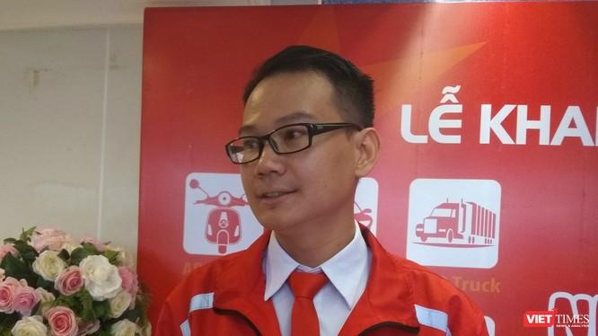 Ông Huỳnh Lê Phú Phong -- Tổng giám đốc Aber Việt Nam.