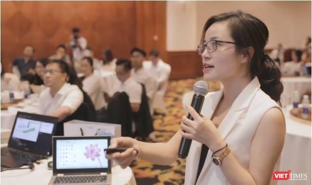 Trang Đào - Tổng Giám đốc Công ty cổ phần Vay Mượn.