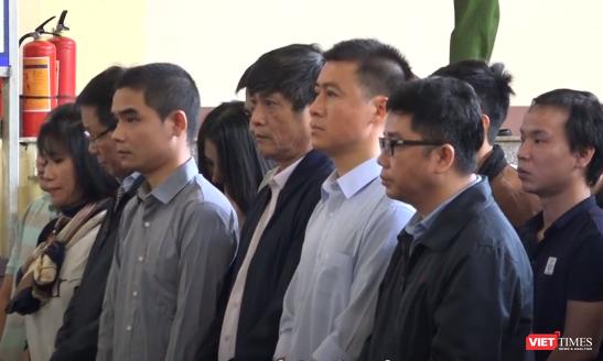7 bị cáo bị tạm giam phục vụ điều tra gồm Phan Văn Vĩnh, Nguyễn Thanh Hóa, Phan Sào Nam, Nguyễn Văn Dương, Phan Thu Hương, Đoàn Thu Hà, Lưu Thị Hồng.