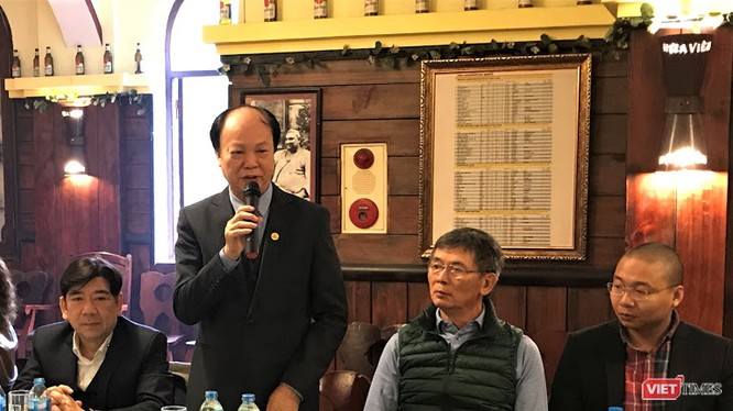 Ông Nguyễn Đình Thắng - Chủ tịch Liên Việt PostBank vừa được bầu giữ chức Phó Chủ tịch Hội Truyền thông số Việt Nam.