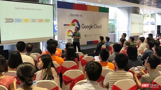 Hội thảo Google Cloud for Start-ups tổ chức tại TP.Hồ Chí Minh với sự tham dự của hàng trăm start-up và các nhà phát triển vừa diễn ra sáng nay.