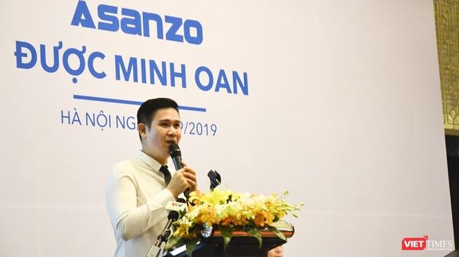Ông Phạm Văn Tam tuyên bố: Asanzo không sai tại cuộc họp báo tổ chức sáng nay (17/9).