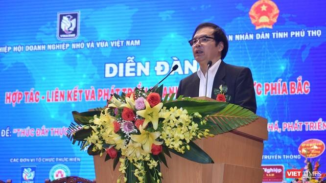 Ông Tô Hoài Nam - Phó Chủ tịch Thường trực kiêm Tổng Thư ký Hiệp hội DNNVV Việt Nam (VINASME).