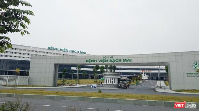 Bệnh viện Bạch Mai cơ sở 2 được đặt tại tỉnh Hà Nam. Ảnh: Lệ Chi