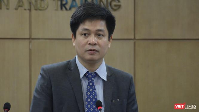 PGS.TS Nguyễn Xuân Thành – Vụ trưởng Vụ Giáo dục Trung học, Bộ Giáo dục và Đào tạo. Ảnh: Q.Trang.