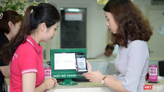 Người dùng có thể thanh toán chi phí khám chữa bệnh, mua thuốc tại Bệnh viện Hữu nghị Việt Đức bằng ví MoMo.
