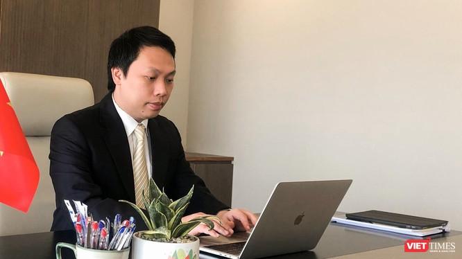 Ông Nguyễn Huy Dũng - Cục trưởng Cục Tin học hóa (Bộ TT&TT).