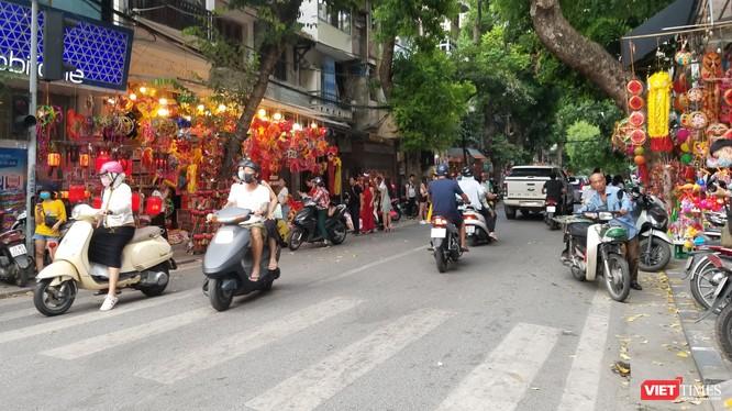 Hà Nội tổ chức cấm đường 5 tuyến phố để phục vụ Lễ hội Trung thu.