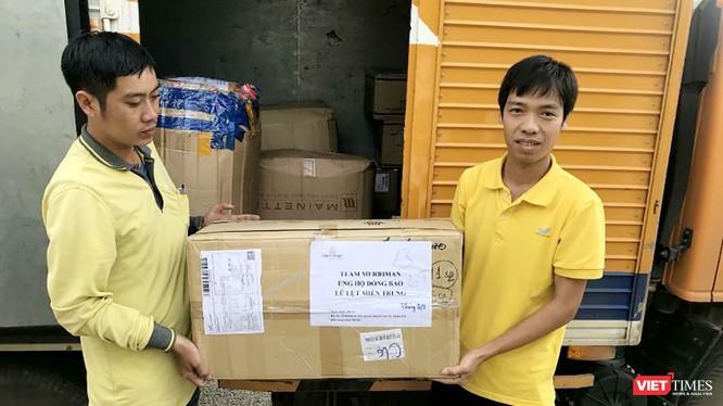 Vietnam Post ủng hộ đồng bào miền Trung hơn 6,5 tỉ đồng.