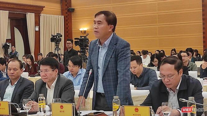 Thứ trưởng Bộ Xây dựng Lê Quang Hùng.