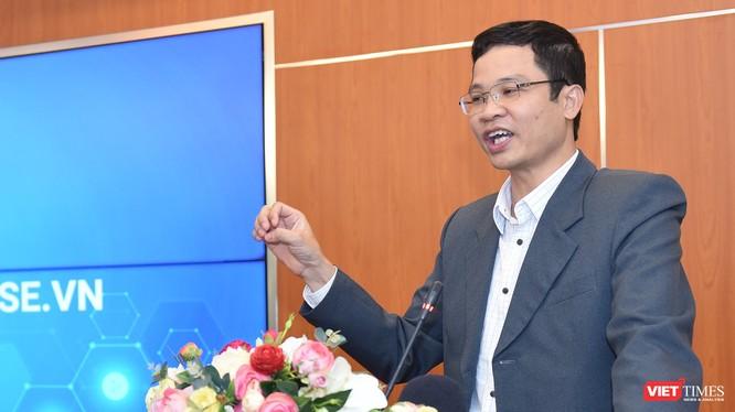 Ông Nguyễn Phú Tiến - Phó Cục trưởng cục Tin học hóa đánh giá cao nền tảng Make in Vietnam Base.vn