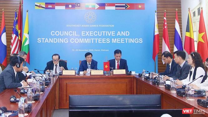 Đầu cầu Việt Nam tham dự trực tuyến phiên làm việc của Hội đồng Liên đoàn Thể thao Đông Nam Á.