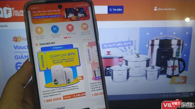 Sàn thương mại điện tử ngày càng phát triển mạnh ở Việt Nam.