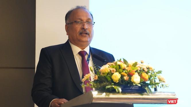 Ông Sanjay Gupta - Phó Chủ tịch tập đoàn HCL Technologies.