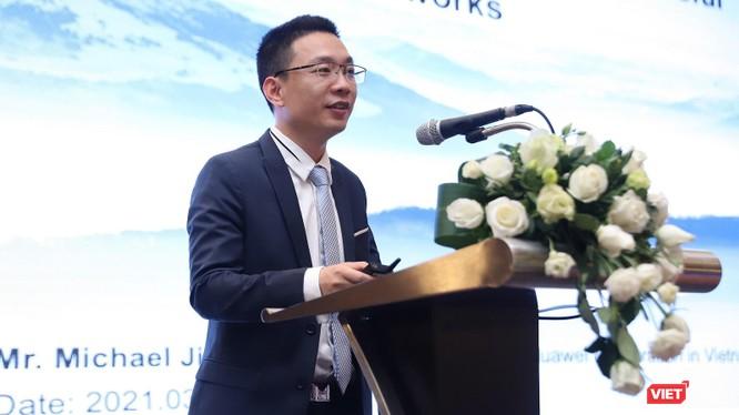 Ông Michael Jiang - Giám đốc Công nghệ (CTO) của Huawei Việt Nam.